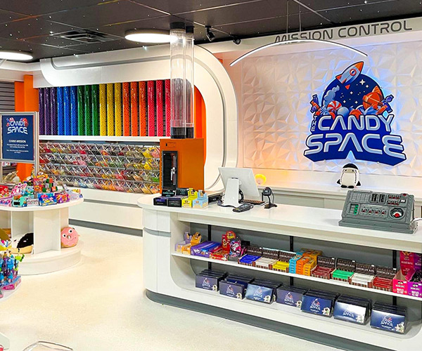 the candy space