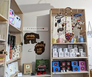 poster that says oh joy holiday open house