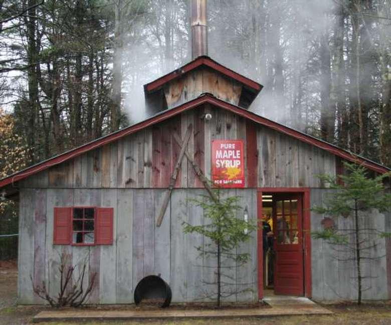 a sugar shack