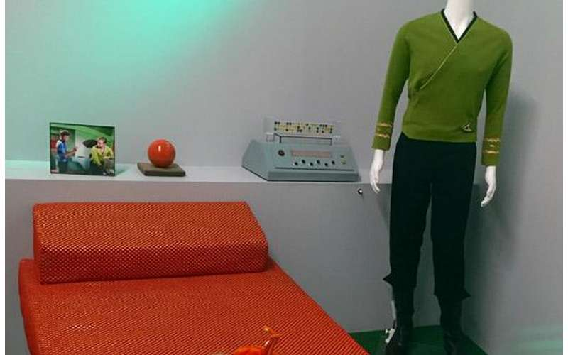 captain kirks room from star trek