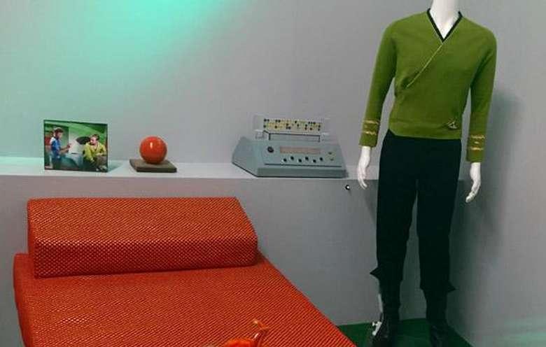 captain kirks room from star trek