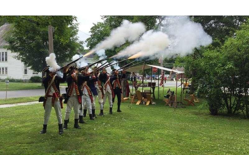 musket firings