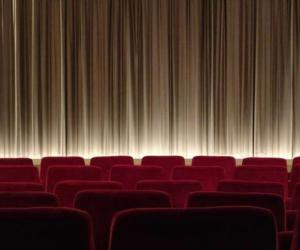 red seats in theater