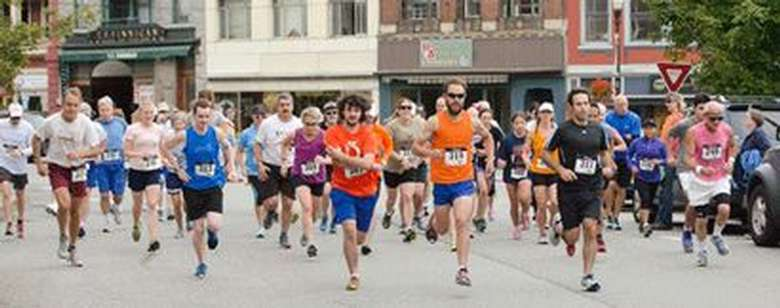 road race runners