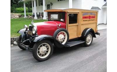 an antique truck