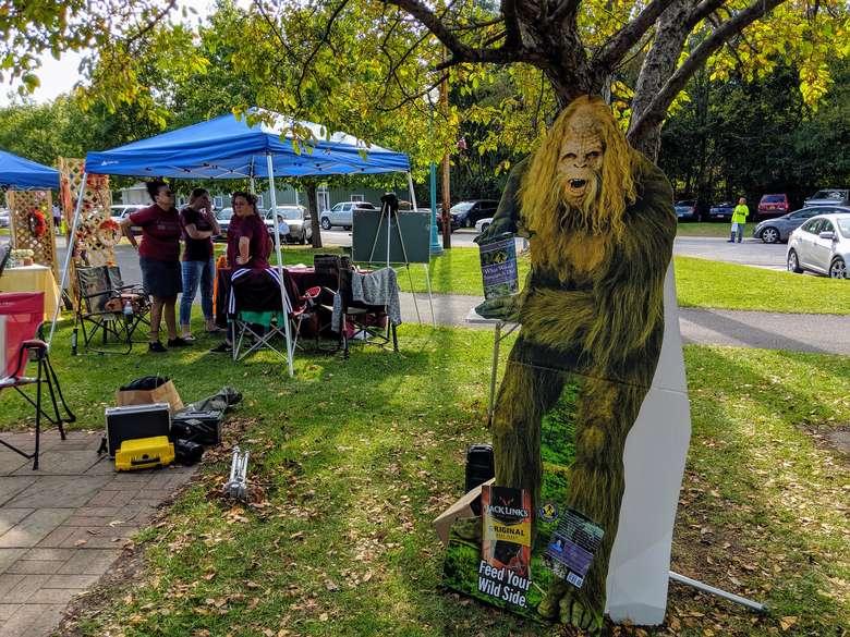 Bigfoot vendor