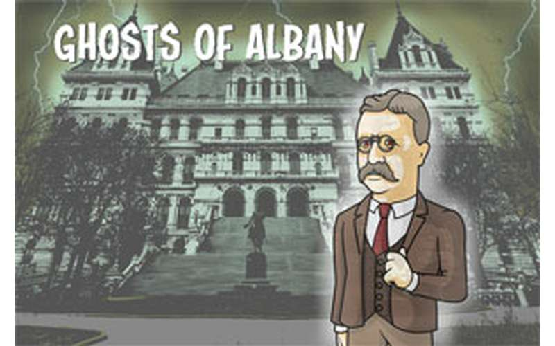 different Ghosts of Albany logo