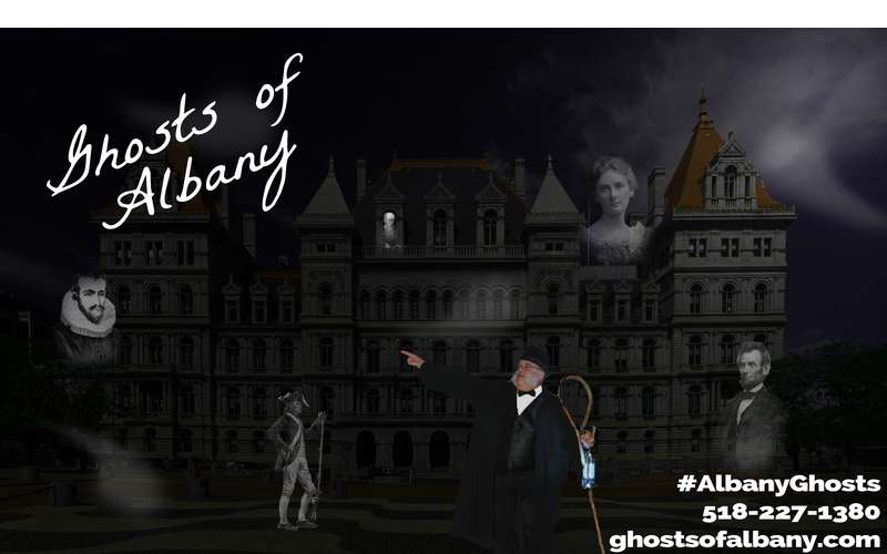 Ghosts of Albany logo