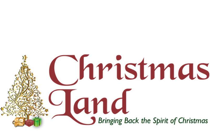 logo for Christmas Land