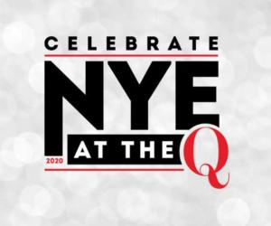 logo for new year's eve at the q