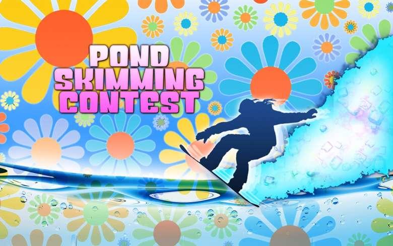 pond skimming logo
