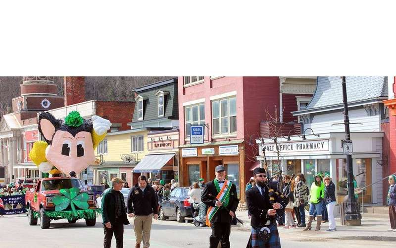 St. Patrick's Day Parade in Saranac Lake (1)