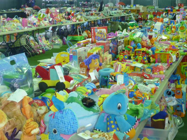 tables with toys