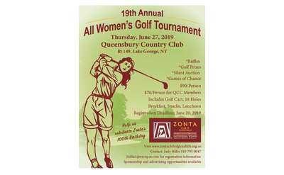 Zonta Club Golf Poster