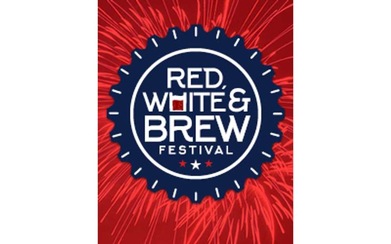 red white and brew fest poster
