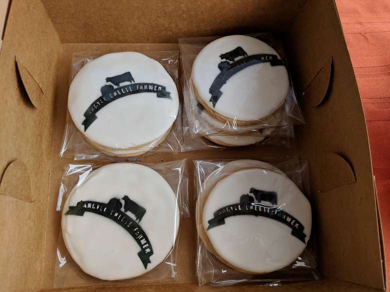 Argyle Cheese Farmer cookies