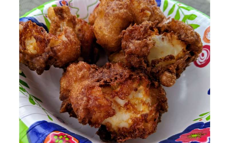 deep fried cheese curds