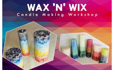 Wax 'n' Wix Candle Making Workshop - Every Weekend, July 6-October 6, at Gore Mountain