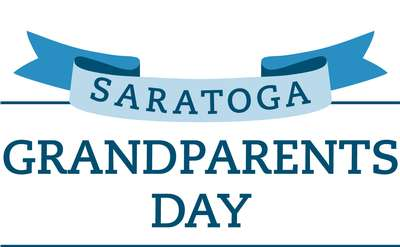 saratoga grandparents day banner