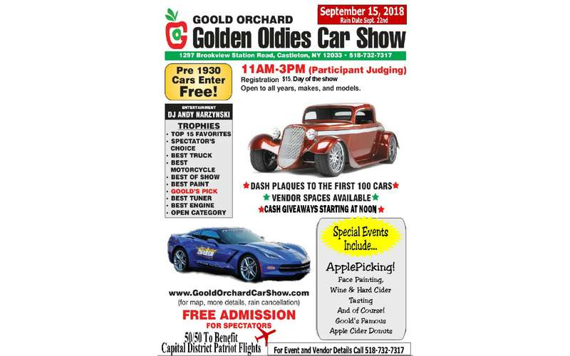 Golden Oldies Car Show Saturday Sep Albany NY Events - Car show dash plaque display