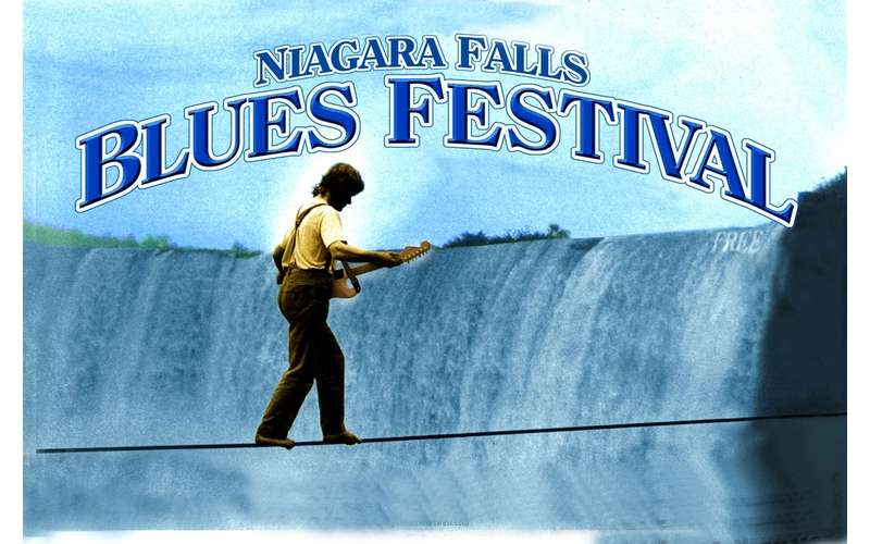 poster for the Niagara Falls Blues Festival