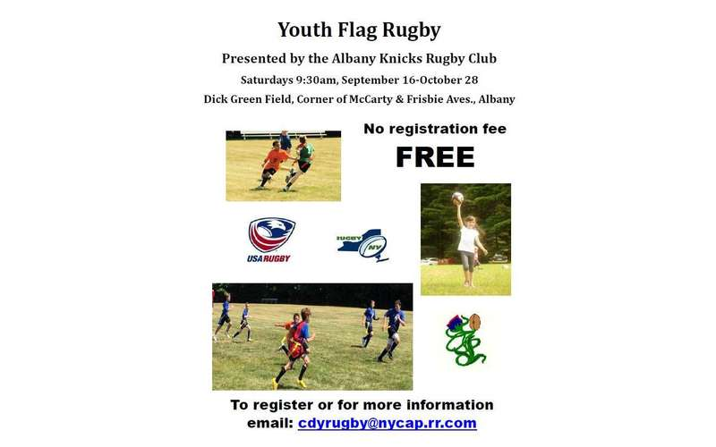 Youth Flag Rugby presented by the Albany Knickerbocker Rugby Club (1)