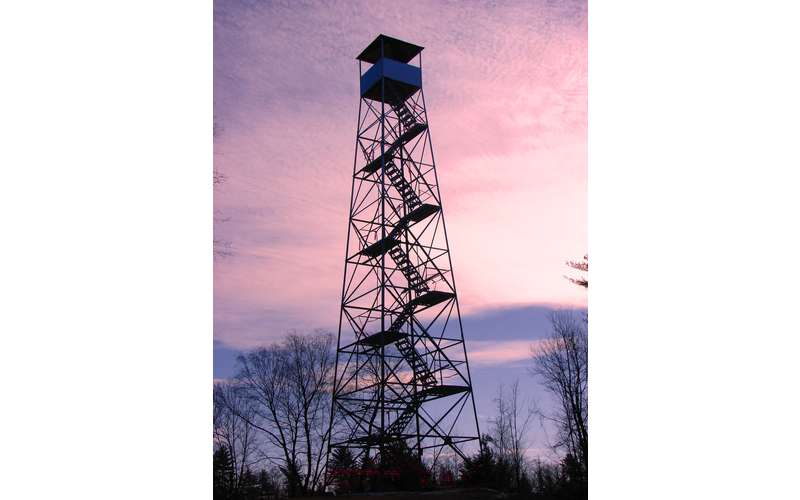 Historic Cornell Hill Fire Tower Hours at Camp Saratoga (1)