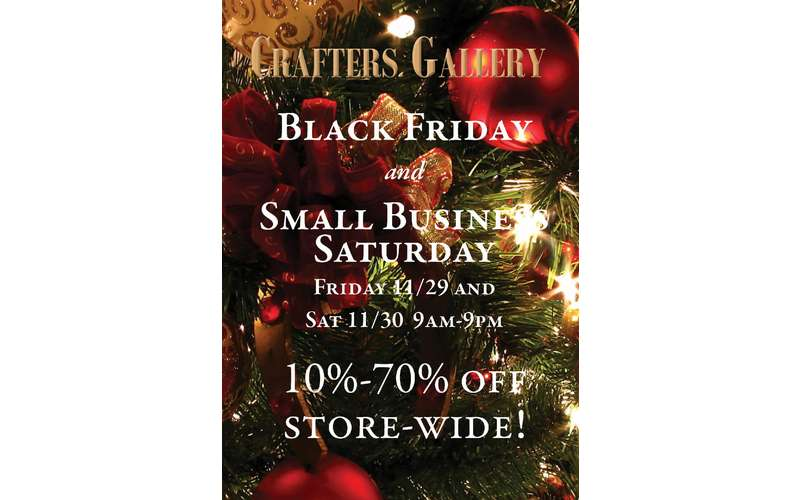 crafters gallery poster