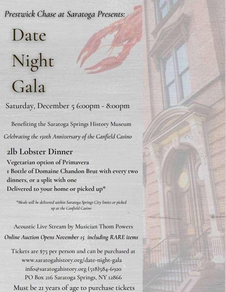 Date Night Gala poster