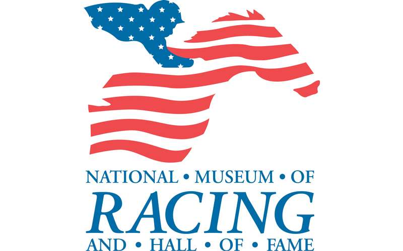 logo for national museum of racing