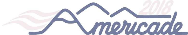 the logo for americade 2018