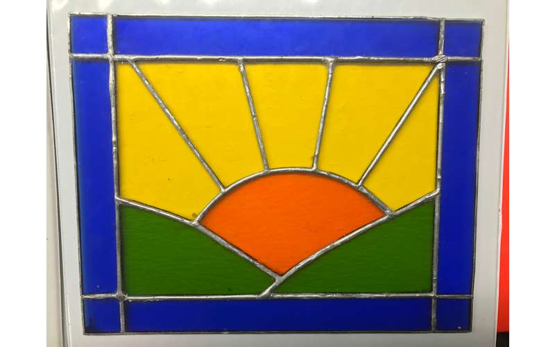Stained Glass for Beginners with Guy Savio (1)