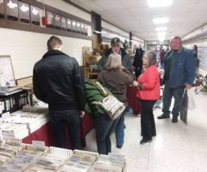 people browsing antiques