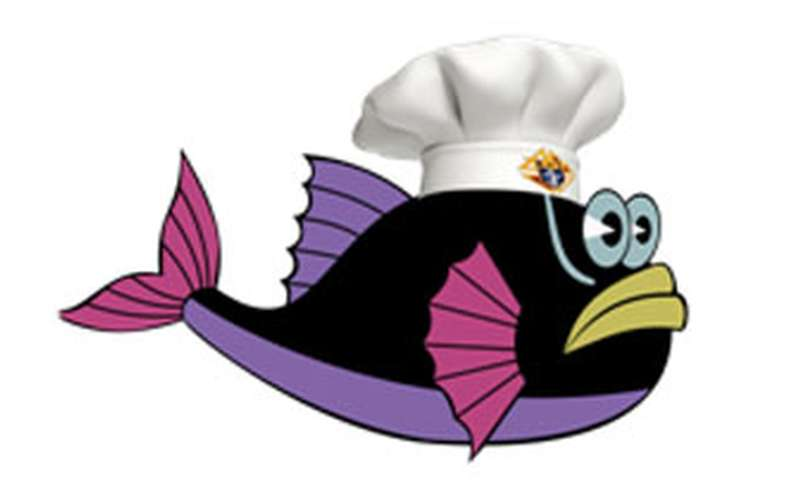 Picture of Fish with Chefs Hat