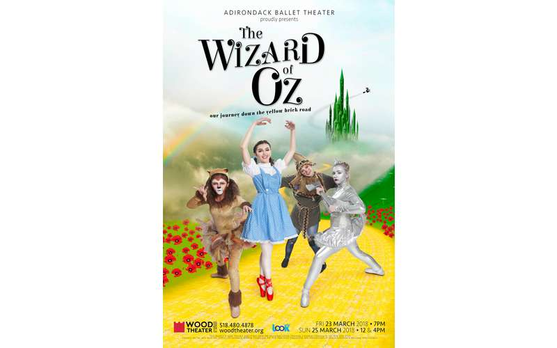 the wizard of oz play poster