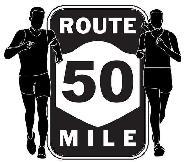 Route 50 Mile Logo