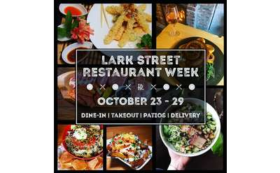 lark street restaurant week event promo