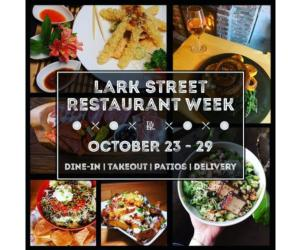 promo photo for lark street restaurant week