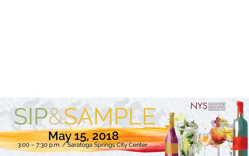 sip and sample event logo
