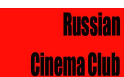 russian cinema club poster