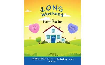 the long weekend event poster