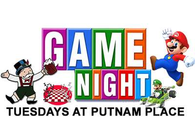 Game Night at Putnam Place