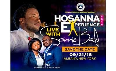 hosanna experience poster