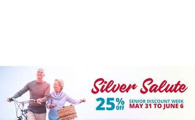 Silver Salute logo