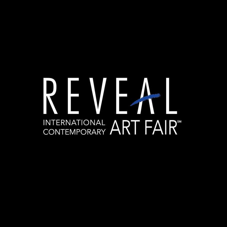 reveal art fair logo