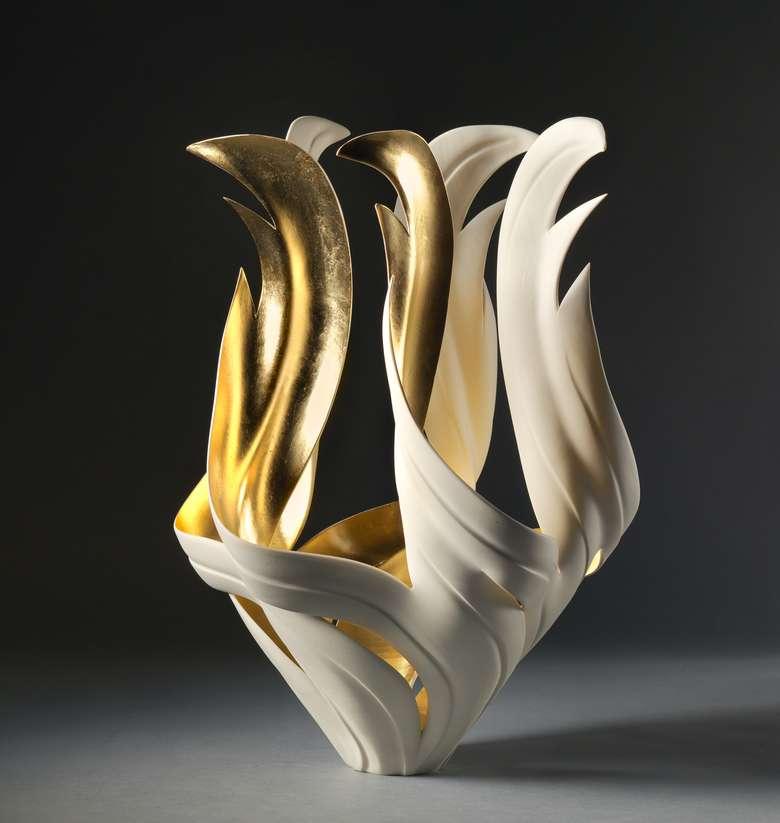 modern art vase