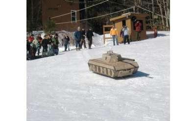 tank sled