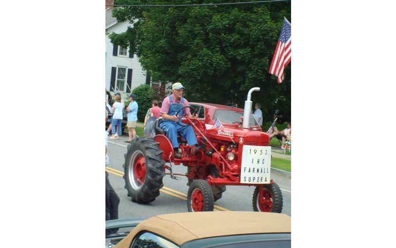 guy on a tractor