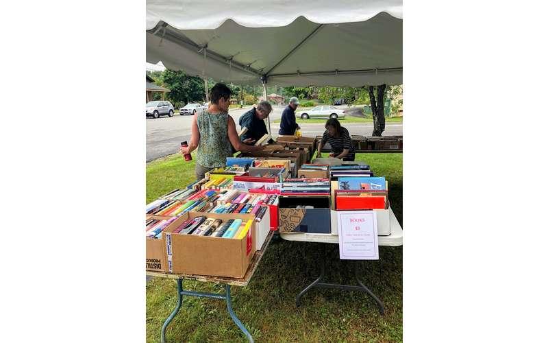 book sale at fair