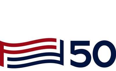 50 flag logo